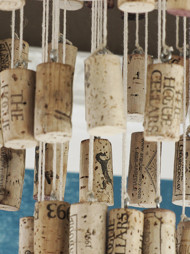 Diy Wine Cork Chandelier Mox Fodder