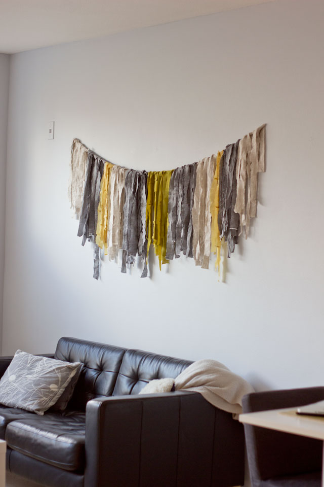 Diy Textile Wall Hanging Mox Fodder