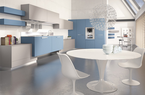 blue_kitchen_cabinets